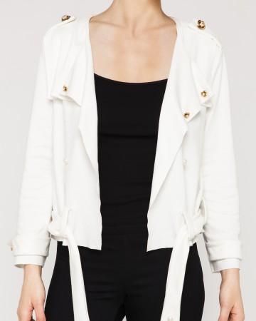 Veste jersey blanche
