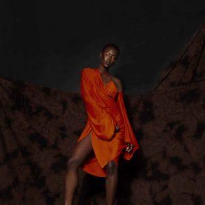 Guerasfatim Orange Dress